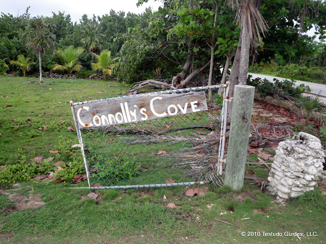 Connolly's Cove Entrance Sign