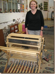 Cathy's new loom