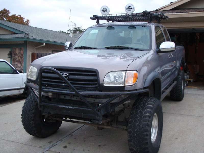 Aux Lights On The Rack Or Bumper Expedition Portal