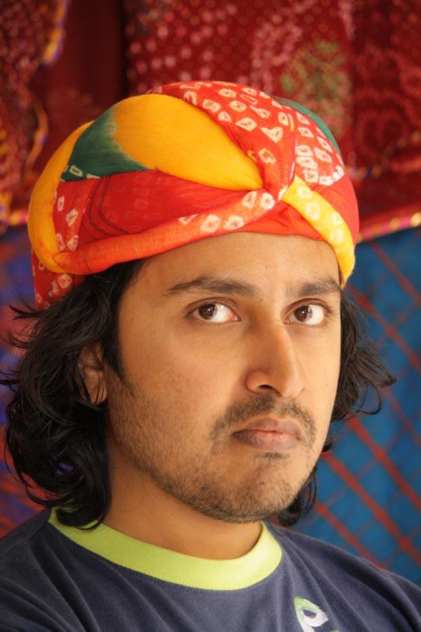 Bhavesh Wearing a Rajasthani Turban