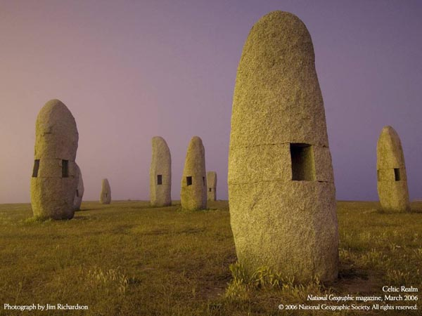 National Geographic Magazine - March 2006 - Celtic Realm - Photograph by Jim Richardson