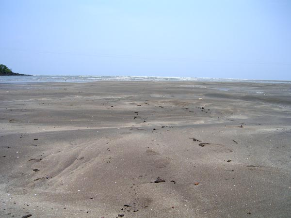 Sand of Harne beach island