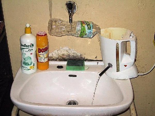Weekend Fun - Funny things of Africa - Hot water system