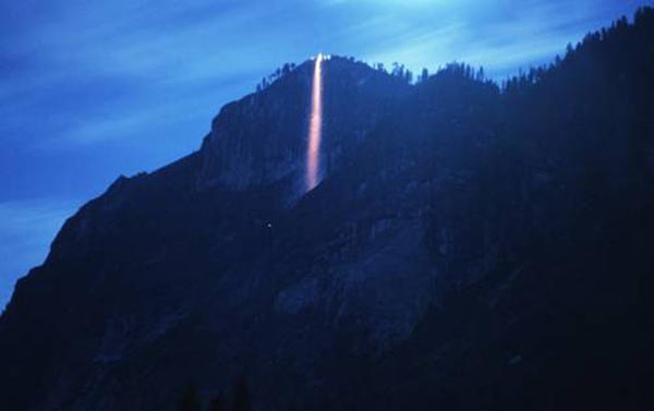 Lavafall at Yosemite National Park