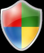 central segurança windows shield escudo