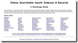 Death Indexes