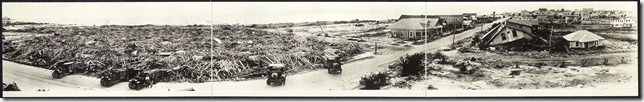 Corpus Christi, Texas, after storm, Sept. 14th, 1919