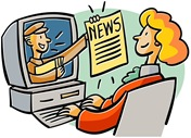 clipart-news-woman-at-computer