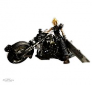 boneco miniatura action figure cloud final fantasy daytona
