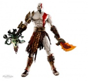 boneco miniatura action figure kratos god of war