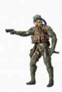 boneco miniatura action figure snake metal gear solid