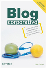 Capa do livro Blog Corporativo
