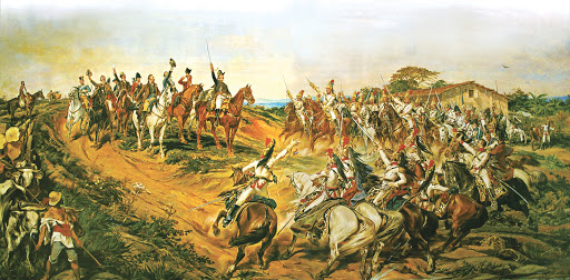 Tela Independência ou Morte, pintada por Pedro Américo de Figueiredo e Mello