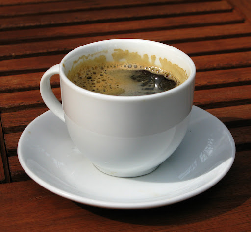 Exemplo de café lungo
