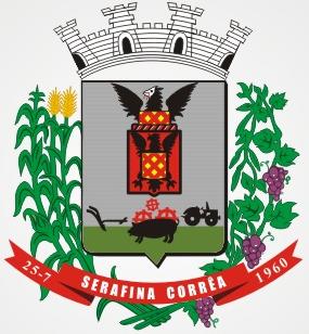 Brasão do município de Serafina Corrêa