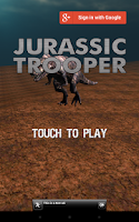 Screenshot of JURASSIC TROOPER