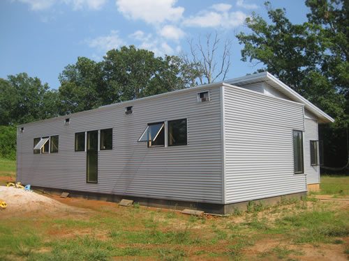 Prefab homes passive solar house kits green modern kits for Sip kits