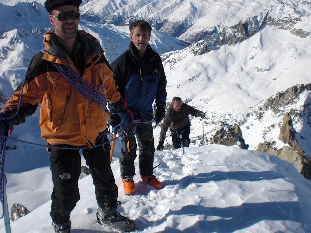 le PIZZ ROTONDO en ski-alpinisme