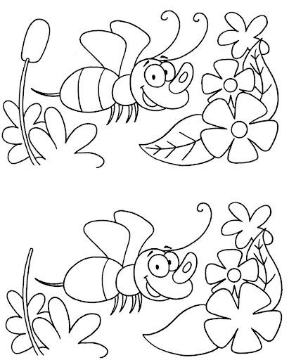 Dibujos para encontrar semejanzas y diferencias - Imagui