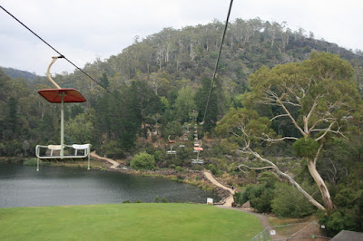 Launceston Chair Lift Tasmania Australia