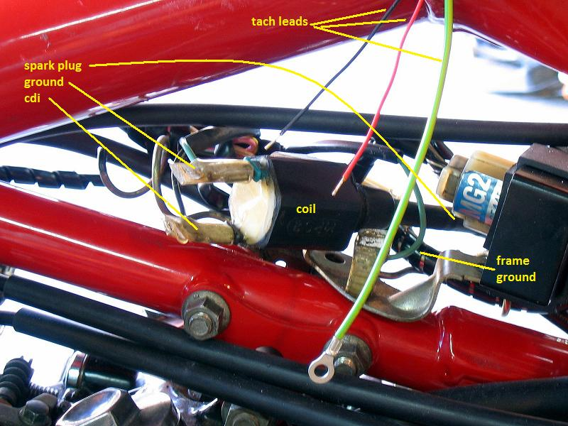 coil_tach manual wiring tach part two motorcycle tachometer wiring diagram at bayanpartner.co