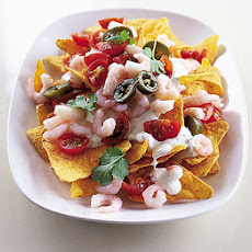 Summer Nachos With Prawns