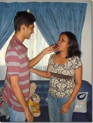 Me and Nadeera