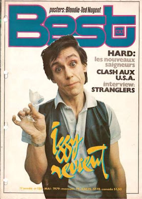 Iggy Pop en couverture de Best en 1979