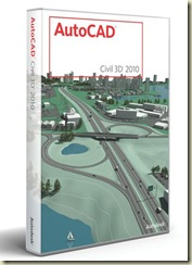 AutoCAD Civil 3D 2010 box