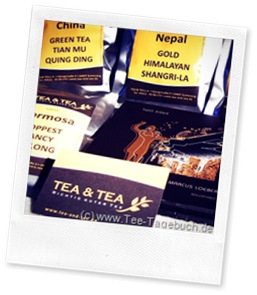 Tea &amp; Tea Tee-Shop