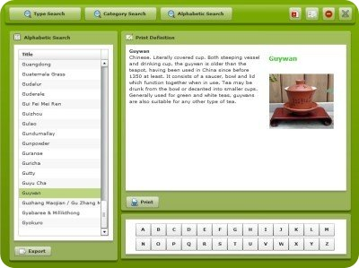 James Norwood Pratt's Tea Dictionary Software