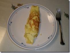 Double-yolk Omlet