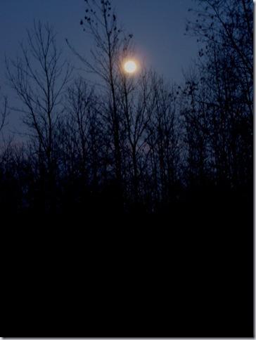December Full Moon - Taken 12/1