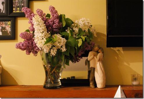 lilacs mantle