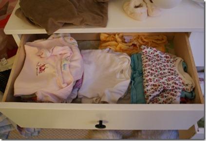 onesies drawer