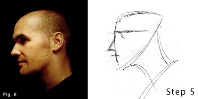 How to draw a head-step 1-figure 6