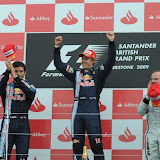 MOTORSPORT - F1 2009 -  GREAT BRITAIN GP - SILVERSTONE 19 TO 21/07/2009 - PHOTO : GILLES LEVENT / DPPI PODIUM