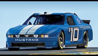 Ford Mustang revient en Nascar