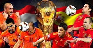 Espagne – Pays-Bas en direct streaming Live finale de la coupe du monde