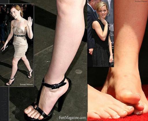 actress feet