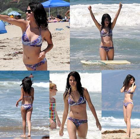 selena gomez in bikini 2009. selena gomez hot ikini pics