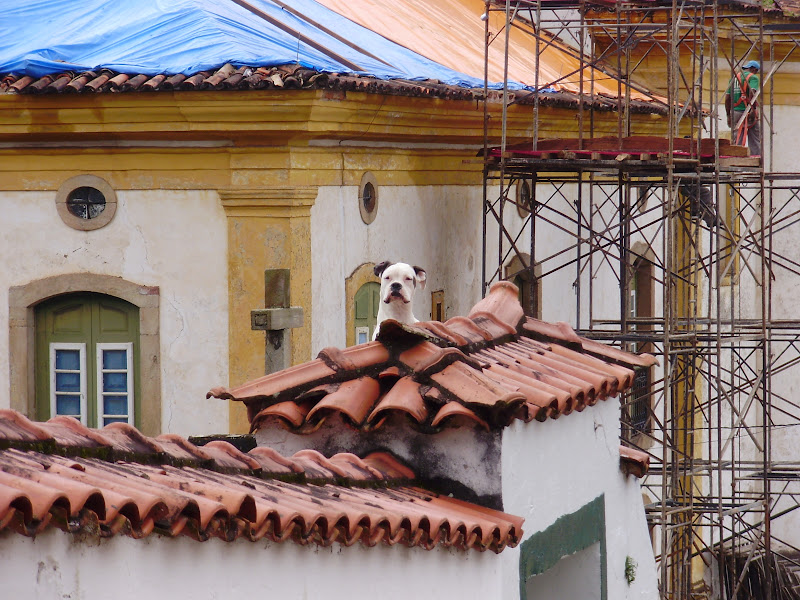 Uma foto de Ouro Preto.