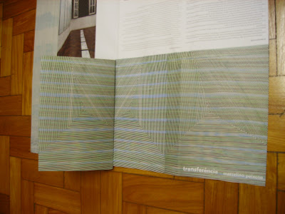 Diálogo pelo catálogo com sem título (Díptico), de Marcelino Peixoto