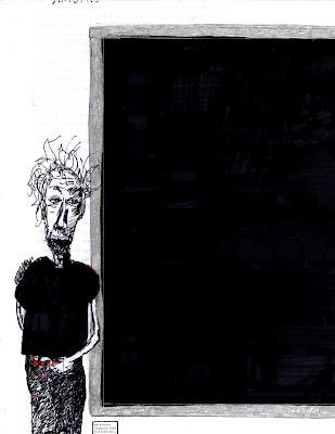 O pintor na exposição descolado e/ou Tatogarta em nume.