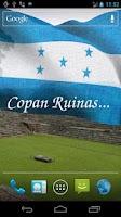 Screenshot of 3D Honduras Flag LWP +