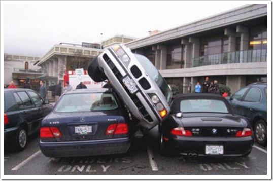 aparcando