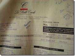 Bill of Sale 1988