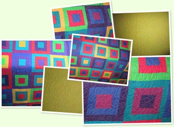 View Bright Squares Quilt