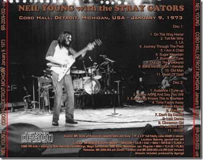 09-01-73 - DETROIT BACKCOVER cd