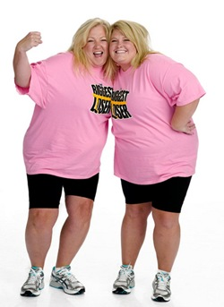 preview / download  	THE BIGGEST LOSER -- Pictured: (l-r) Contestants, Helen Phillips, Shanon Thomas -- NBC Photo: Mitchell Haaseth FOR EDITORIAL USE ONLY -- DO NOT RE-SELL/DO NOT ARCHIVE  Airdate: Tuesdays on NBC (8-10 p.m. ET) File: NUP_132513_0724.jpg Size: 828531 Posted: 12/22/08